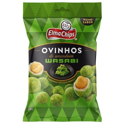 Ovinhos de Amendoim Wasabi Elma Chips 140g