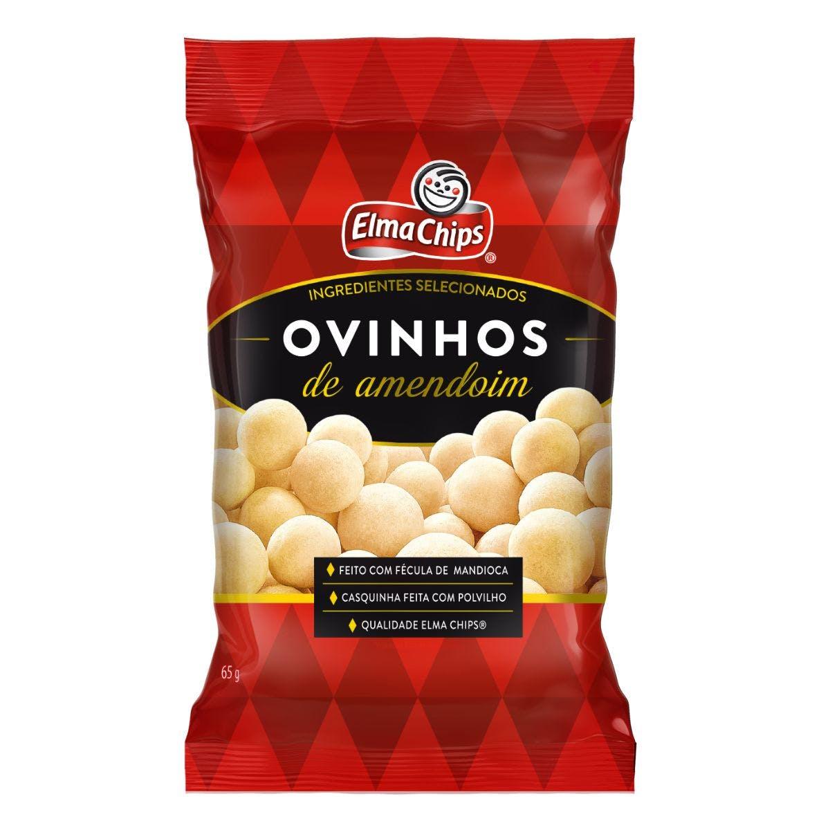 Ovinhos de Amendoim Elma Chips 65g