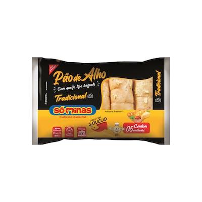 Pão de Alho Só Minas Baguete Tradicional 400g