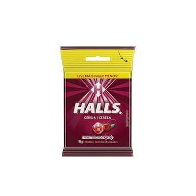 Halls Bag Cereja 3x28g
