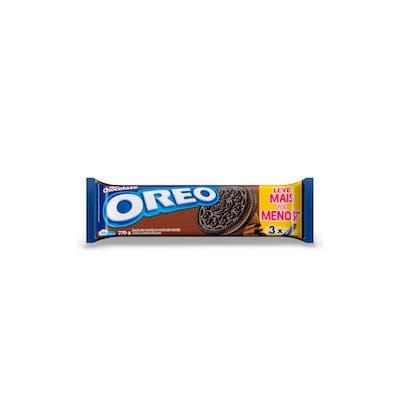Biscoito Oreo Chocolate Econômico 3x90g