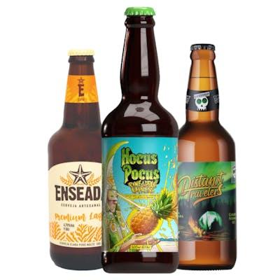 Combo Enseada Premium Lager | Overhop Distant Trevelers | Hocus Pocus Pineapple Express
