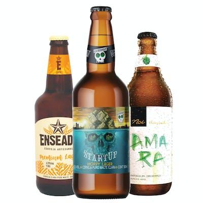 Combo Enseada Premium Lager | Overhop Startup | Noi Amara