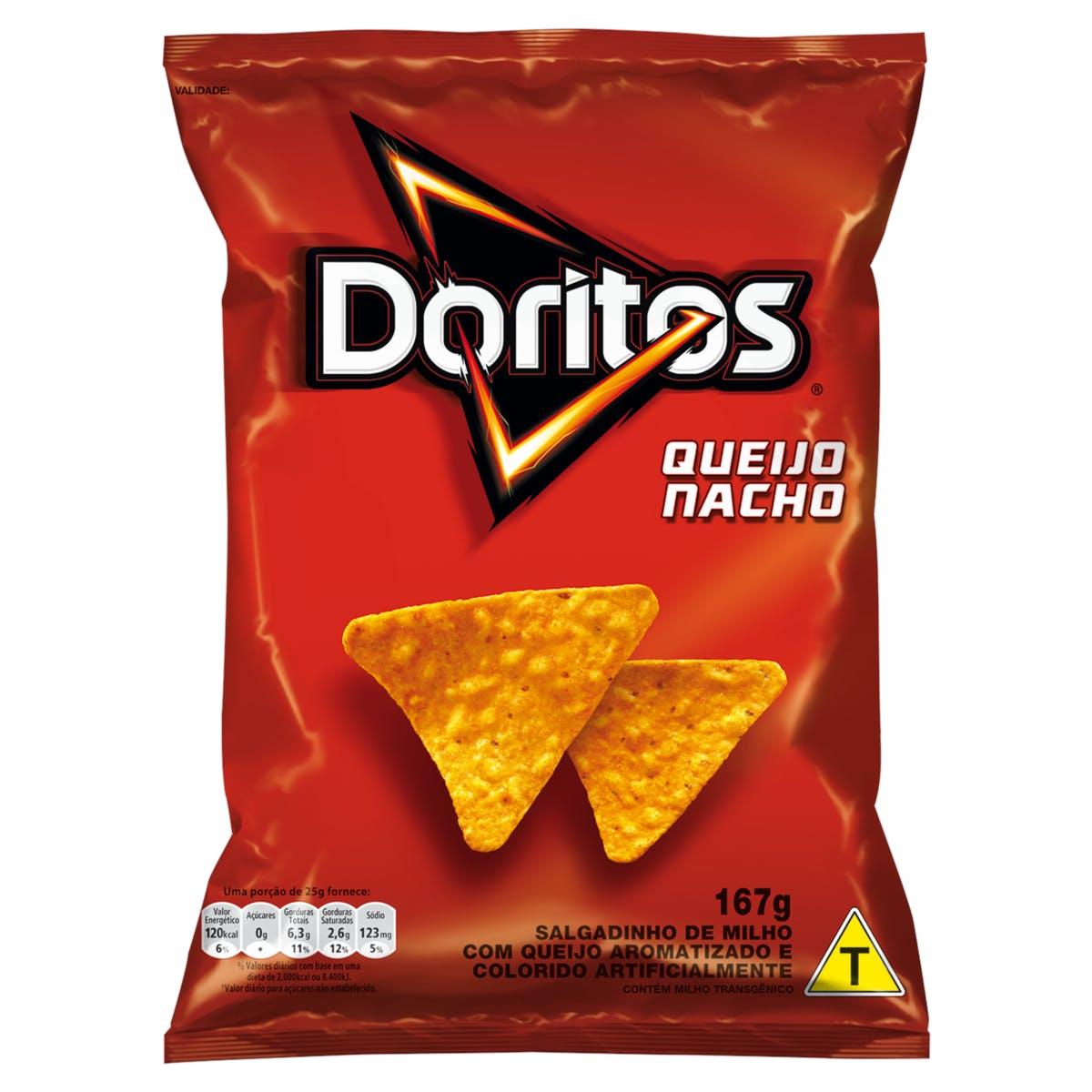 Doritos Queijo Nacho 167g