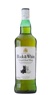 Whisky Black & White 1L