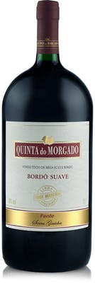 Vinho Tinto Bordô Suave Quinta do Morgado 1L