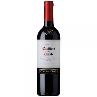 Vinho Tinto Seco Cabernet Sauvignon Casillero Del Diablo 750ml