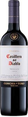 Vinho Tinto Merlot Casillero Del Diablo 750ml