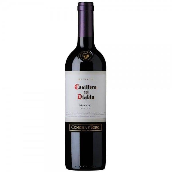 Vinho Tinto Seco Merlot Casillero Del Diablo 750ml