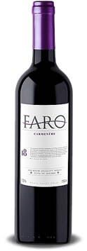 Vinho Tinto Seco Carménère Faro I8 750ml