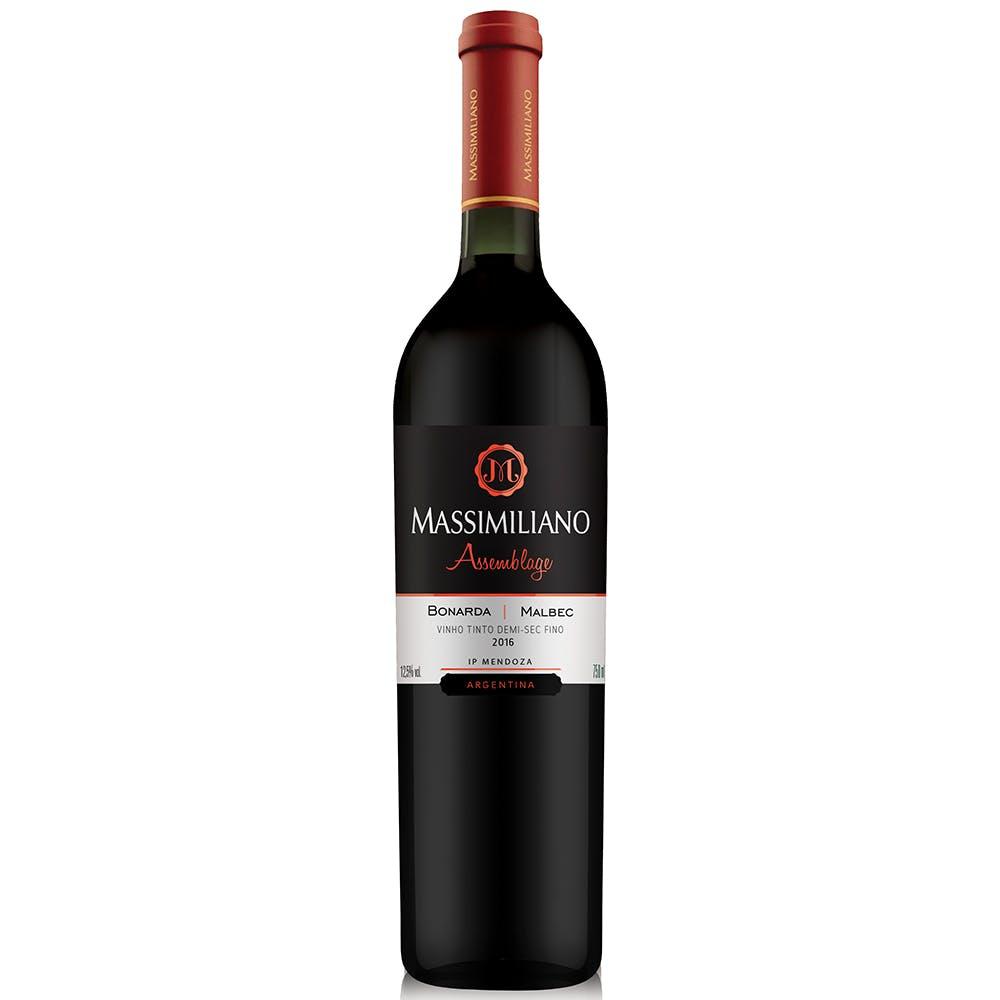 Vinho Tinto Seco Assemblage Massimiliano 750ml