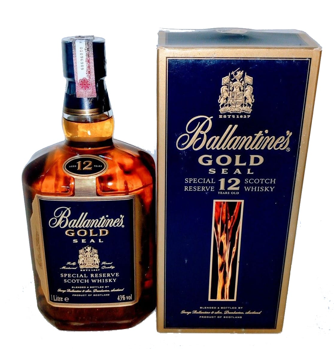 Whisky Ballantines Gold 1L