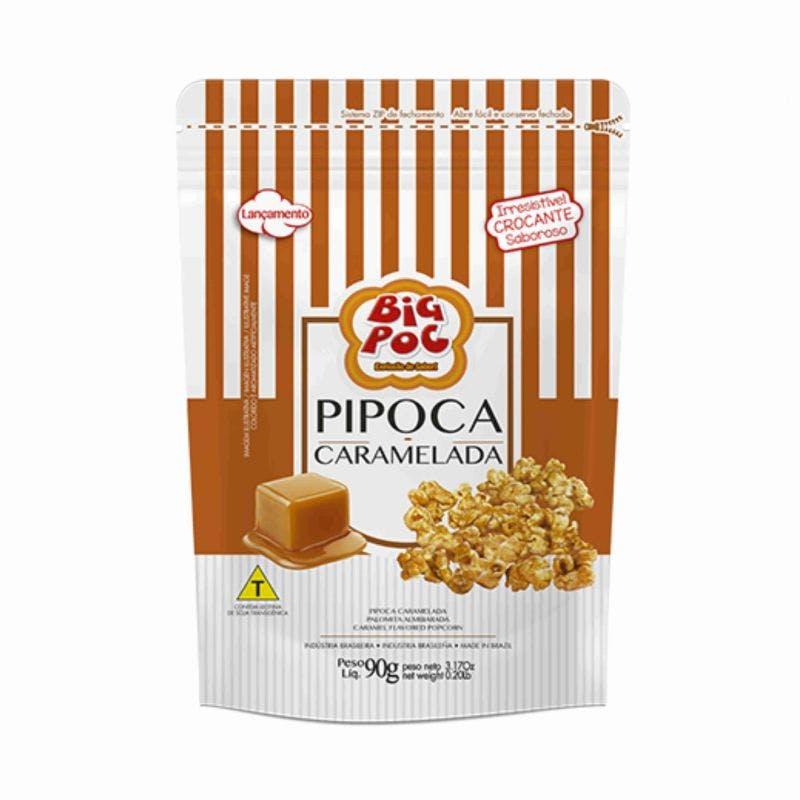 Pipoca Mavalerio Caramelo Big Poc