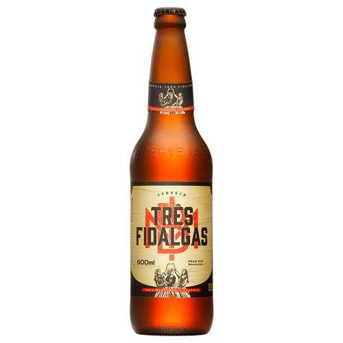 Cerveja Três Fidalgas 600ml