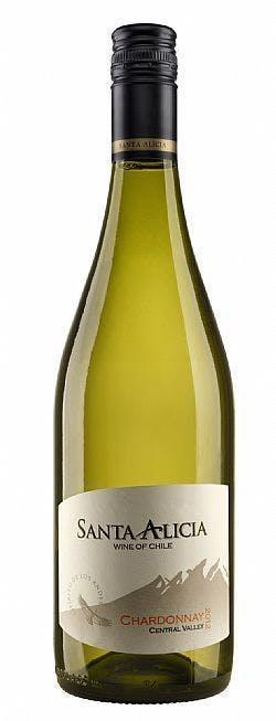 Vinho Branco Chardonnay Santa Alicia 750ml