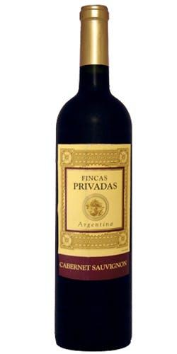 Vinho Tinto Cabernet Sauvignon Fincas Privadas 750ml