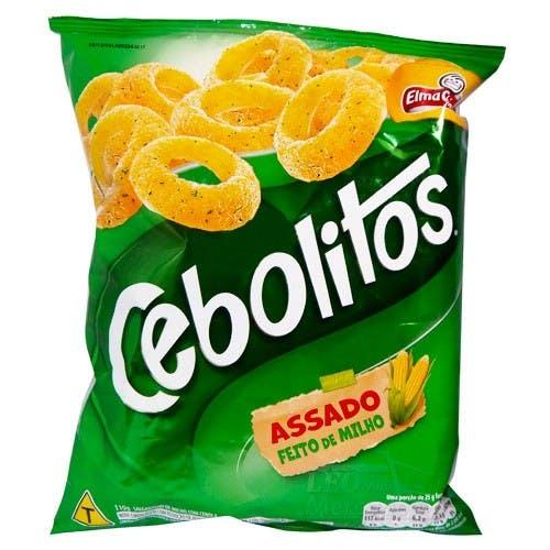 Salgadinhos Cebolitos 60g