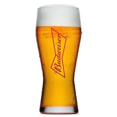 Copo Budweiser 400ml - Unidade