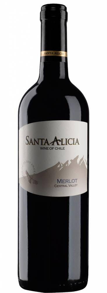 Vinho Tinto Merlot Valle Central Santa Alicia 750ml