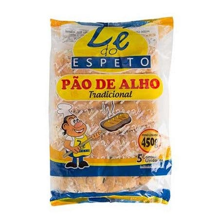 Pão de Alho Zé do Espeto Tradicional 450g