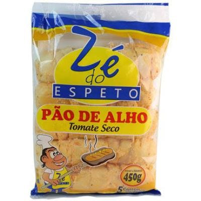 Pão de Alho Zé do Espeto Tomate Seco 450g