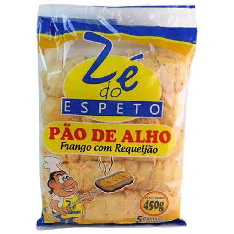 Pão de Alho Zé do Espeto Frango com Requeijão 450g