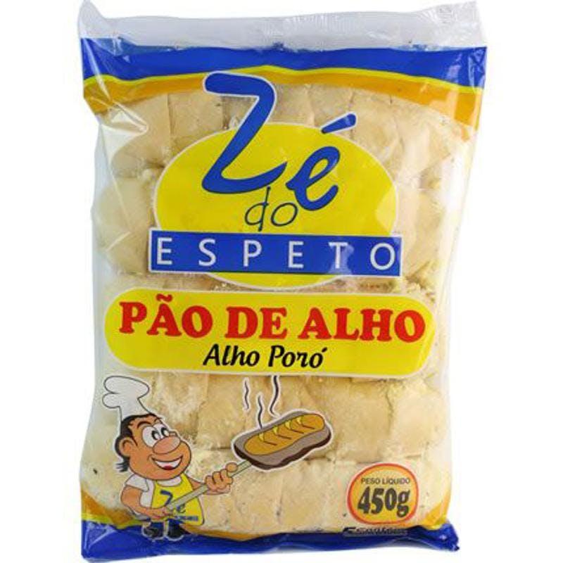Pão de Alho Zé do Espeto Alho Poró 450g