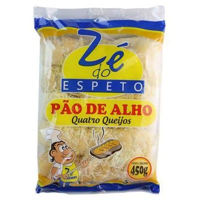 Pão de Alho Zé do Espeto Quatro Queijos 450g