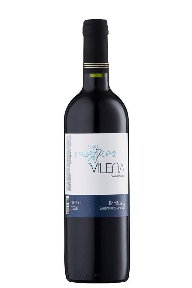 Vinho Tinto de Mesa Seco Vilena 750ml