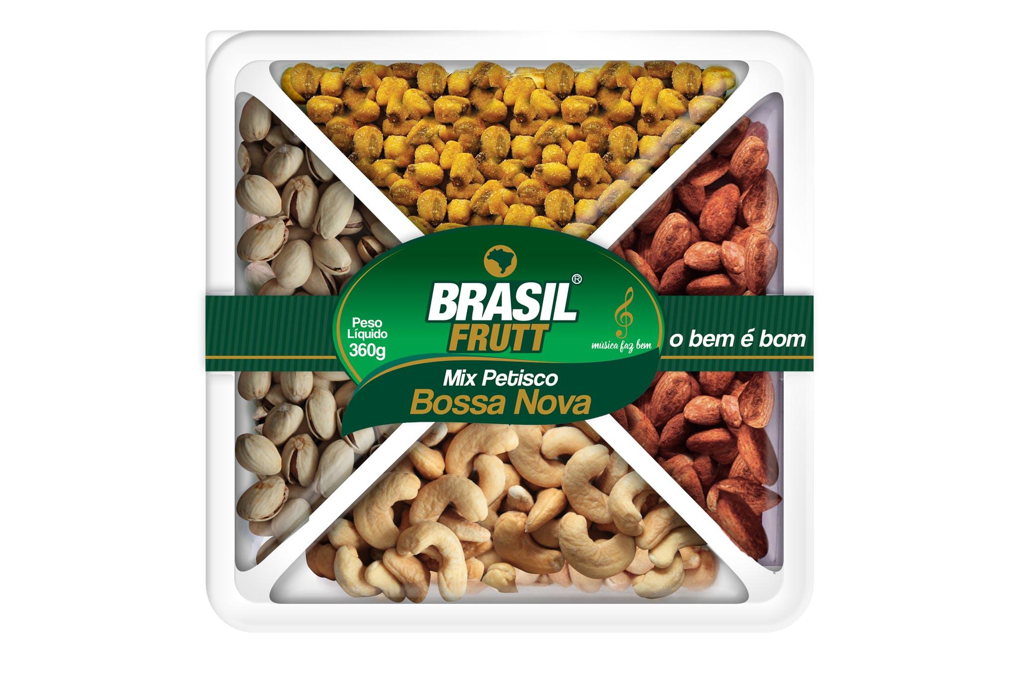 Mix de Petisco Brasil Frutt 360g