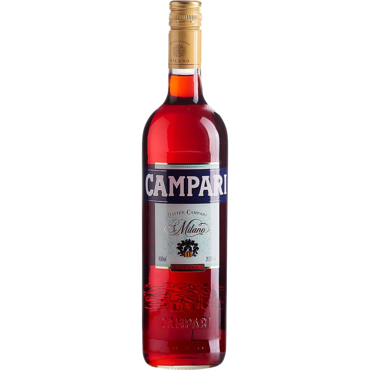 Aperitivo Campari Garrafa 900ml