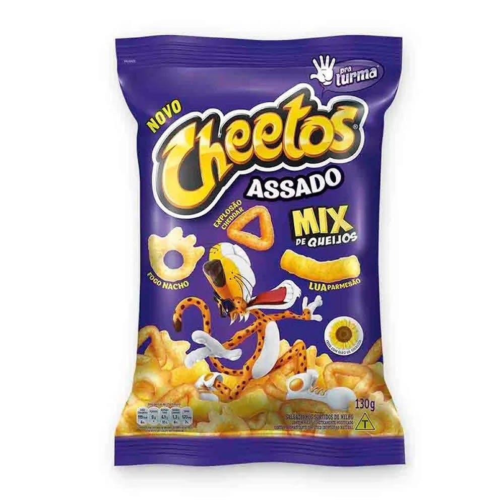 Salgadinho Cheetos Assado Mix de Queijos 49g