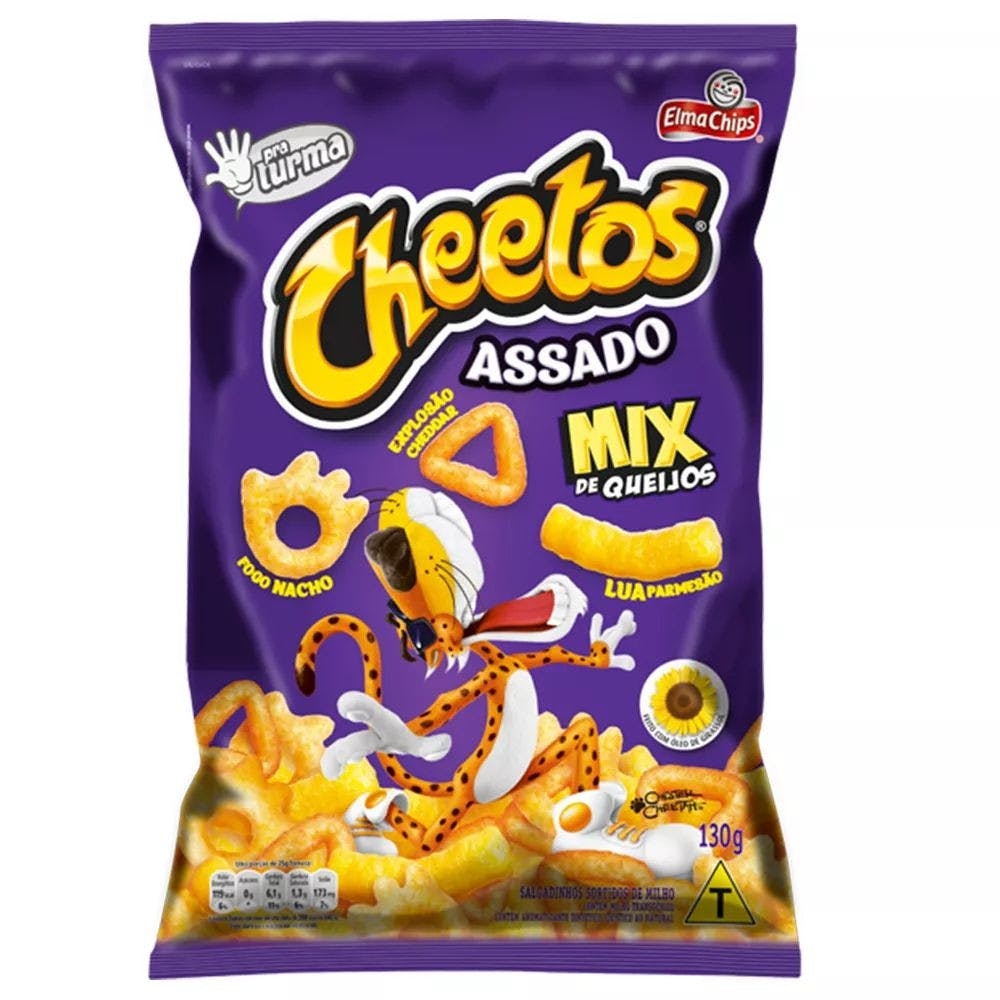 Cheetos Assado Mix de Queijos 130g