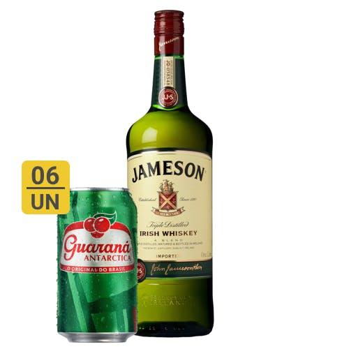 Combo Guaraná +  Jameson (6 Guaraná 350ml + 1 Whisky Jameson 1L)
