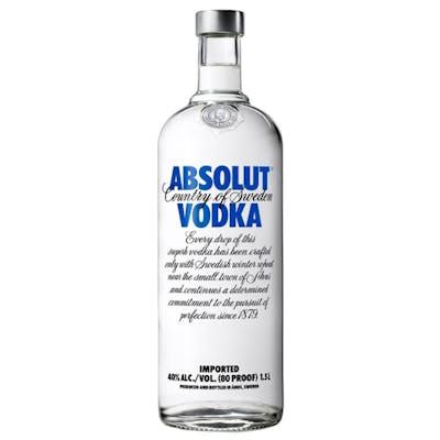 Vodka Absolut Original 1,5L