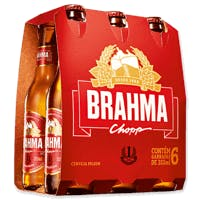 Brahma 355ml - Pack com 6 Unidades