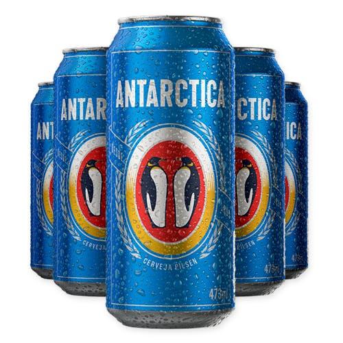 Antarctica Pilsen 473ml - Caixa com 12 unidades