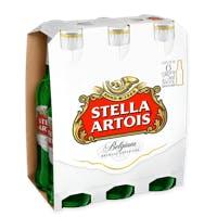 Stella Artois 275ml - Pack com 6 unidades