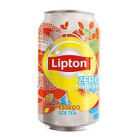 Chá Lipton Pêssego Zero 340ml