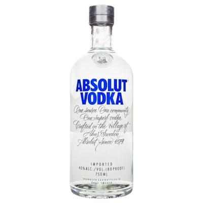 Vodka Absolut Original 750ml