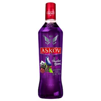 Vodka Askov Sabores Frutas Roxas 900ml
